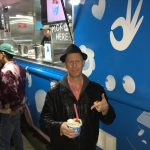 Keith Eating Ice Cream in Venice CA